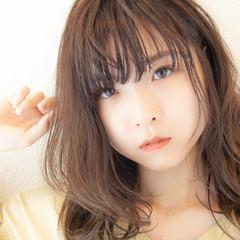 ナチュラル 髪質改善 ヘアカラー レイヤーカット ヘアスタイルや髪型の写真・画像