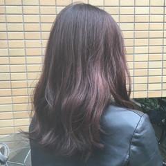 フェミニン ロング デート 大学生 ヘアスタイルや髪型の写真・画像