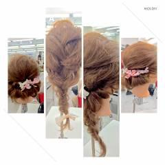 ゆるふわ ロング 愛され ヘアアレンジ ヘアスタイルや髪型の写真・画像
