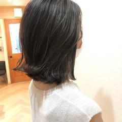 オルティーブアディクシー セミロング 外国人風カラー モード ヘアスタイルや髪型の写真・画像