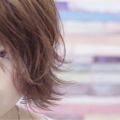 色気 フェミニン ボブ ショートボブ ヘアスタイルや髪型の写真・画像