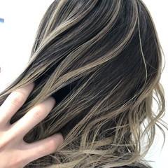 大人かわいい アッシュ ボブ 外国人風カラー ヘアスタイルや髪型の写真・画像