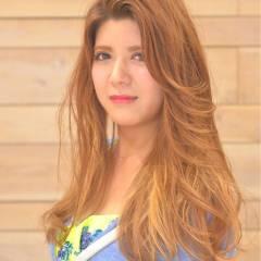コンサバ グラデーションカラー 大人かわいい 渋谷系 ヘアスタイルや髪型の写真・画像