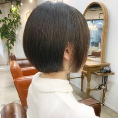 ボブ ゆるふわ ミニボブ ショートヘア ヘアスタイルや髪型の写真・画像