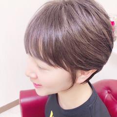ガーリー ベリーショート ミニボブ ショートヘア ヘアスタイルや髪型の写真・画像