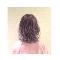 外国人風 ボブ ガーリー ハイライト ヘアスタイルや髪型の写真・画像