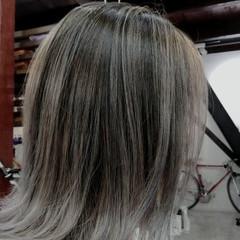 ナチュラル ボブ 切りっぱなしボブ ヘアスタイルや髪型の写真・画像