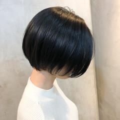ナチュラル ショート ヘアスタイルや髪型の写真・画像