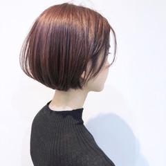 オーガニックカラー デート オフィス 大人かわいい ヘアスタイルや髪型の写真・画像