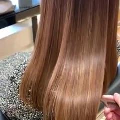 髪質改善トリートメント ナチュラル トリートメント 美髪 ヘアスタイルや髪型の写真・画像