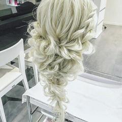 ヘアアレンジ 外国人風 ロング 夏 ヘアスタイルや髪型の写真・画像