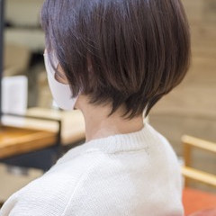 ショートヘア 小顔ショート ショートボブ ハンサムショート ヘアスタイルや髪型の写真・画像
