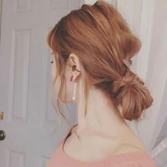 ヘアアレンジ 夏 グレージュ 涼しげ ヘアスタイルや髪型の写真・画像