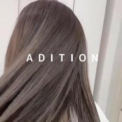 ハイトーンカラー ホワイトベージュ モード シルバー ヘアスタイルや髪型の写真・画像