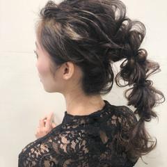 ヘアアレンジ オシャレ 大人かわいい ロング ヘアスタイルや髪型の写真・画像