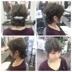 ルーズ ショート 大人かわいい ヘアアレンジ ヘアスタイルや髪型の写真・画像