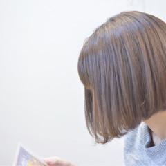 ミルクティー ナチュラル グレージュ 外国人風カラー ヘアスタイルや髪型の写真・画像