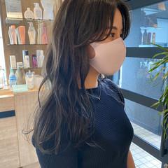 オリーブブラウン ミディアム 透明感カラー ミントアッシュ ヘアスタイルや髪型の写真・画像