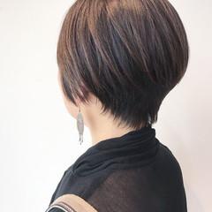 ショートヘア ショート 小顔ショート マッシュショート ヘアスタイルや髪型の写真・画像