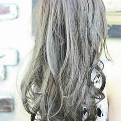 フェミニン グラデーションカラー 外国人風 ハイライト ヘアスタイルや髪型の写真・画像