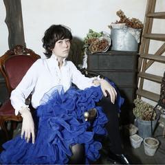 黒髪 レイヤーカット モード 外国人風 ヘアスタイルや髪型の写真・画像