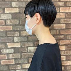 ショート ナチュラル ベリーショート アディクシーカラー ヘアスタイルや髪型の写真・画像