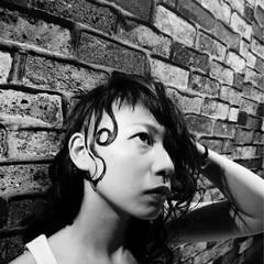 モード かっこいい セミロング ヘアスタイルや髪型の写真・画像