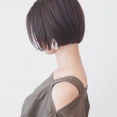 大人女子 ショートボブ ボブ ストレート ヘアスタイルや髪型の写真・画像
