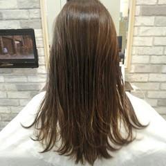 ロング 秋 前髪あり 透明感 ヘアスタイルや髪型の写真・画像