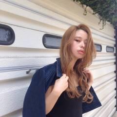 ロング アンニュイ 外国人風 ストリート ヘアスタイルや髪型の写真・画像