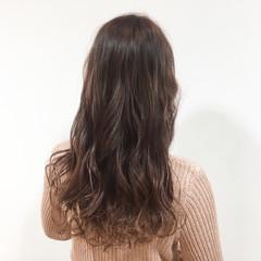 ピンク フェミニン ピンクアッシュ グラデーションカラー ヘアスタイルや髪型の写真・画像