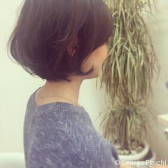 ストリート 外国人風 ボブ 大人かわいい ヘアスタイルや髪型の写真・画像