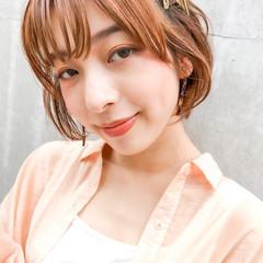 ショート ショートアレンジ ミニボブ ショートボブ ヘアスタイルや髪型の写真・画像