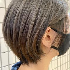 ショートヘア モード ショートボブ ボブ ヘアスタイルや髪型の写真・画像