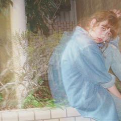 ミディアム アンニュイ ストリート 簡単ヘアアレンジ ヘアスタイルや髪型の写真・画像