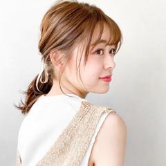 オフィス 韓国 レイヤーカット ウルフカット ヘアスタイルや髪型の写真・画像