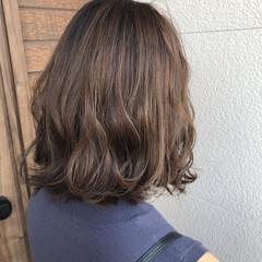 ブラウンベージュ ミルクティーグレー ミルクティー ナチュラル ヘアスタイルや髪型の写真・画像