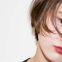 外国人風 アッシュ ショート ストリート ヘアスタイルや髪型の写真・画像