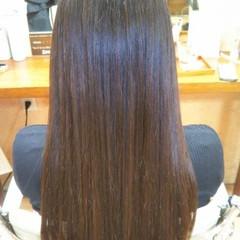 ナチュラル サラサラ 艶髪 ロング ヘアスタイルや髪型の写真・画像