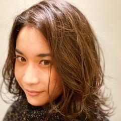 大人カジュアル ミディアム 大人かわいい 大人可愛い ヘアスタイルや髪型の写真・画像