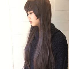 透明感 上品 姫カット ロング ヘアスタイルや髪型の写真・画像