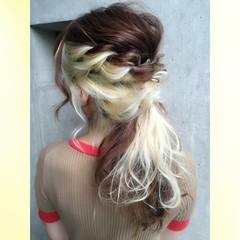 フェミニン 大人かわいい ガーリー ヘアアレンジ ヘアスタイルや髪型の写真・画像