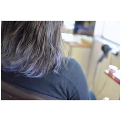 グラデーションカラー 外国人風カラー ストリート ダブルカラー ヘアスタイルや髪型の写真・画像