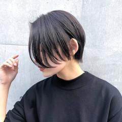 ショート ヘアカラー コスメ・メイク ショートヘア ヘアスタイルや髪型の写真・画像
