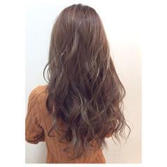 大人かわいい ロング 外国人風 グラデーションカラー ヘアスタイルや髪型の写真・画像