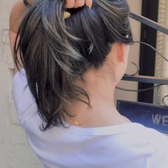 ハイライト 外国人風カラー エレガント アッシュグレージュ ヘアスタイルや髪型の写真・画像