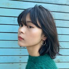パーマ ゆるふわパーマ 毛先パーマ ナチュラル ヘアスタイルや髪型の写真・画像