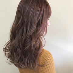 こなれ感 セミロング フェミニン 春 ヘアスタイルや髪型の写真・画像