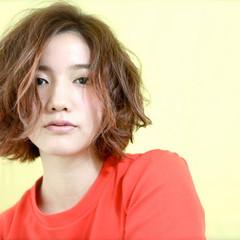ストリート 外国人風 大人かわいい ボブ ヘアスタイルや髪型の写真・画像