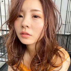 ミルクティーグレージュ レイヤーカット レイヤーロングヘア ミルクティーベージュ ヘアスタイルや髪型の写真・画像
